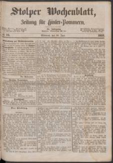 Stolper Wochenblatt. Zeitung für Hinterpommern № 75