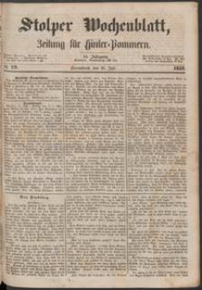 Stolper Wochenblatt. Zeitung für Hinterpommern № 79