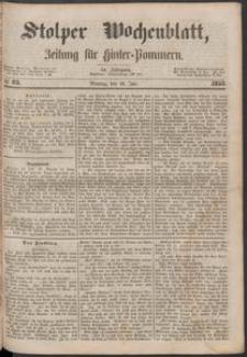 Stolper Wochenblatt. Zeitung für Hinterpommern № 85