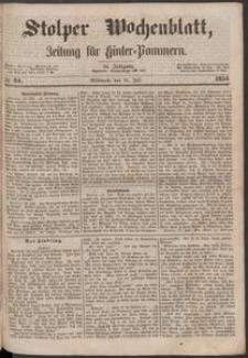 Stolper Wochenblatt. Zeitung für Hinterpommern № 84