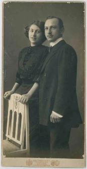 Zdjęcie małżeństwa - portret do kolan