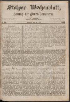 Stolper Wochenblatt. Zeitung für Hinterpommern № 86