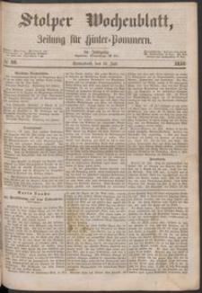Stolper Wochenblatt. Zeitung für Hinterpommern № 88