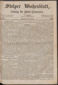 Stolper Wochenblatt. Zeitung für Hinterpommern № 90
