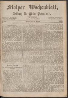 Stolper Wochenblatt. Zeitung für Hinterpommern № 92