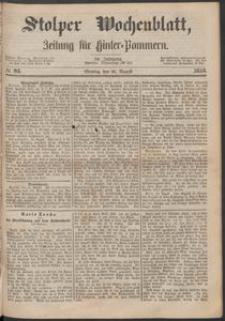 Stolper Wochenblatt. Zeitung für Hinterpommern № 95