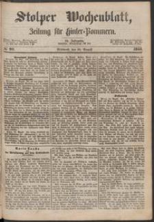 Stolper Wochenblatt. Zeitung für Hinterpommern № 99