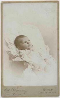 Zdjęcie niemowlęcia - portret leżący
