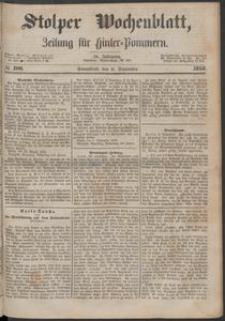 Stolper Wochenblatt. Zeitung für Hinterpommern № 106