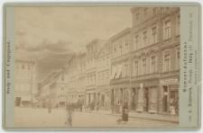 Zdjęcie Rynku w Słupsku - widok w stronę ulicy Grodzkiej
