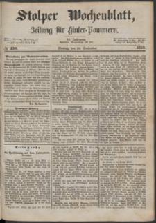 Stolper Wochenblatt. Zeitung für Hinterpommern № 110