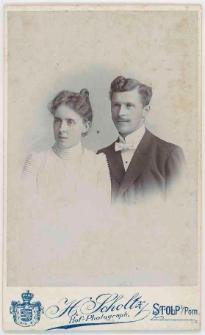 Zdjęcie małżeństwa - popiersie
