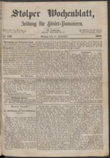 Stolper Wochenblatt. Zeitung für Hinterpommern № 113