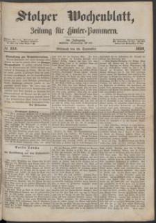 Stolper Wochenblatt. Zeitung für Hinterpommern № 114