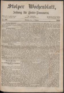 Stolper Wochenblatt. Zeitung für Hinterpommern № 116