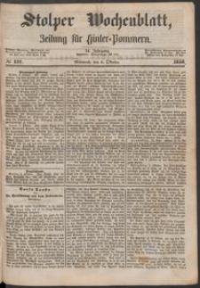 Stolper Wochenblatt. Zeitung für Hinterpommern № 117