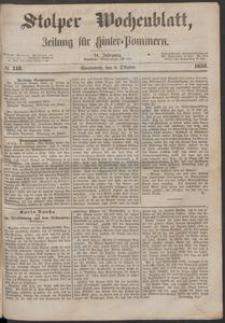 Stolper Wochenblatt. Zeitung für Hinterpommern № 118