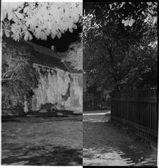 Słupsk - zabudowania dawnego klasztoru premonstratensów widziane od strony obecnej ul. Grodzkiej