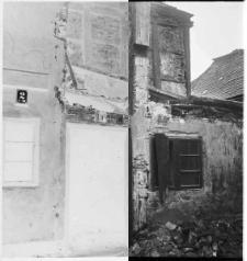 Słupsk, rozbiórka budynku nr 1 przy Akazienstr. (ulica nie istnieje)