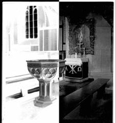 Kościół Mariacki w Słupsku - chrzcielnica