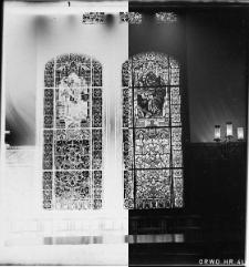 Kościół Mariacki w Słupsku - witraże w sali rajców w ratuszu