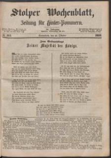 Stolper Wochenblatt. Zeitung für Hinterpommern № 121