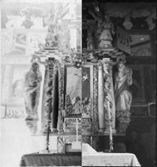 Ołtarz kościoła w nierozpoznanej miejscowości