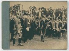 Zdjęcie z wizyty Augusta von Mackensena w Słupsku