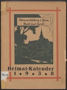 Rummelsburg Stadt und Kreis : Heimatkalender 1938