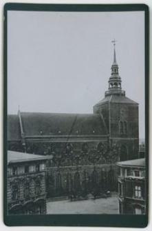 Kościół Najświętszej Marii Panny, widok od strony Starego Rynku