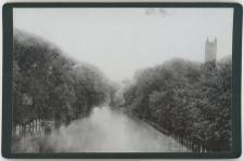 Rzeka Słupia - widok z mostu Kaszubskiego (Präsidentenbrücke) w stronę mostu Kowalskiego (Schmiedebrücke)