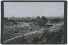 Widok na Słupsk z ówczesnej piaskowni, obecnie w tym miejscu stadion 650-lecia (Hindenburg Kampfbahn)