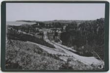 Widok na dzisiejszy Lasek Północny (Langen Berge) od strony zachodniej