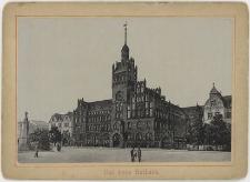 Nowy ratusz miejski (Rathaus) na projekcie