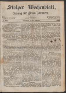 Stolper Wochenblatt. Zeitung für Hinterpommern № 136