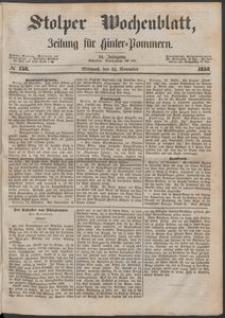 Stolper Wochenblatt. Zeitung für Hinterpommern № 138