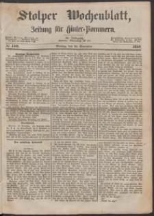 Stolper Wochenblatt. Zeitung für Hinterpommern № 140