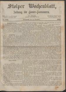 Stolper Wochenblatt. Zeitung für Hinterpommern № 145