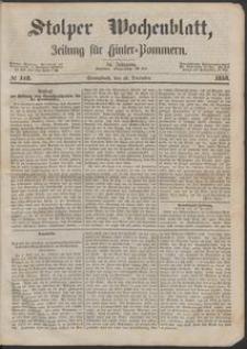 Stolper Wochenblatt. Zeitung für Hinterpommern № 148
