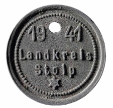 Psi numerek powiatu słupskiego z 1941 roku, nr 4825