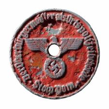 Plakieta rejestracyjna (Kennzeichen Siegel)