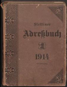 Adreβbuch für Stettin und Umgebung 1914