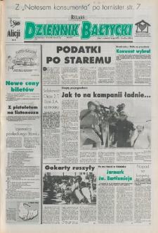 Dziennik Bałtycki 1995, nr 192