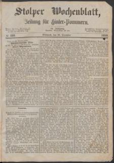 Stolper Wochenblatt. Zeitung für Hinterpommern № 152