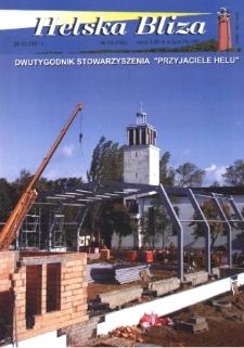"""Helska Bliza : dwutygodnik Stowarzyszenia """"Przyjaciele Helu"""", 2001, nr 19"""