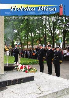 """Helska Bliza : dwutygodnik Stowarzyszenia """"Przyjaciele Helu"""", 2003, nr 15"""