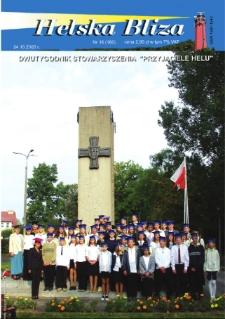 """Helska Bliza : dwutygodnik Stowarzyszenia """"Przyjaciele Helu"""", 2003, nr 18"""