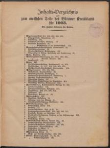 Bütower Kreisblatt 1903
