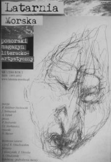 Latarnia Morska : pomorski magazyn literacko-artystyczny, 2006, nr 1
