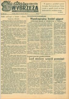 Na Straży Wybrzeża : gazeta marynarki wojennej, 1951, nr 222